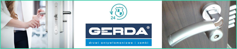Montaż zamka Gerda w drzwiach Kraków