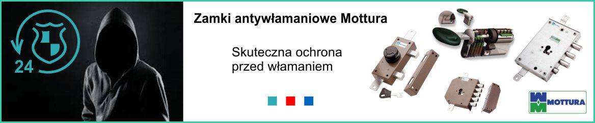 Zamek antywlamaniowy do drzwi mottura Kraków